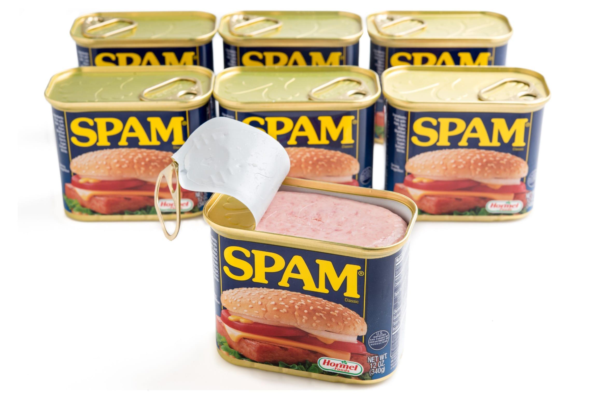 Американські консерви Spam